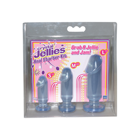 Le Femme - Crystal Jellies P_0283-21-cd_6.jpg Anal Starter Kit - Blauw