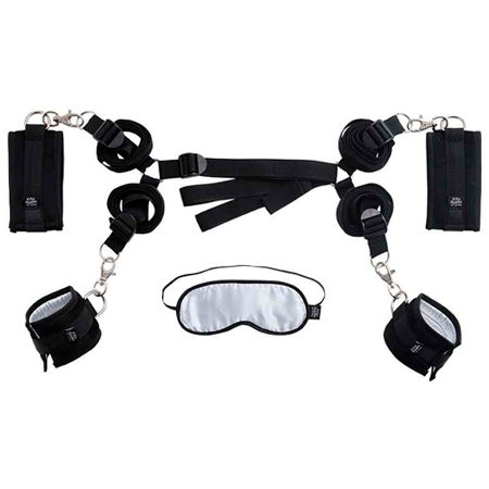 Le Femme - Fifty Shades of Grey Hard Limits - Under The Bed Restraints Kit