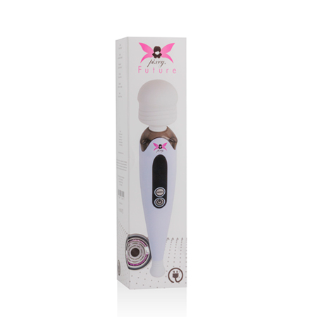 Le Femme - Pixey Future Mini Wand Vibrator - Lichtpaars