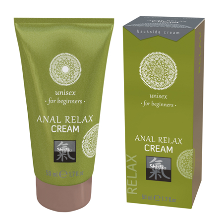 Le Femme - Shiatsu Anaal Relax Crème Voor Beginners