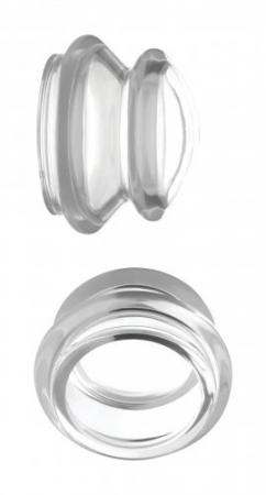 Le Femme - Master Series Clear Plungers Tepelzuigers - Large