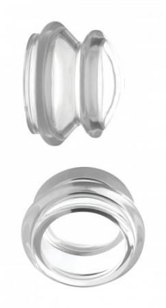 Le Femme - Master Series Clear Plungers Tepelzuigers - Small