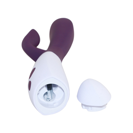 Le Femme - Ovo K2 Rabbit Vibrator Blackberry/White