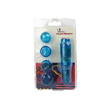 Le Femme - Pocket Pleasure Mini Vibrator - Blauw